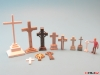 Cemetery set 1 - crosses HO/1:87